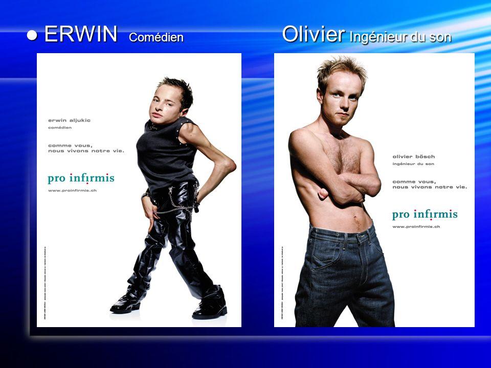 ERWIN Comédien Olivier Ingénieur du son ERWIN Comédien Olivier Ingénieur du son