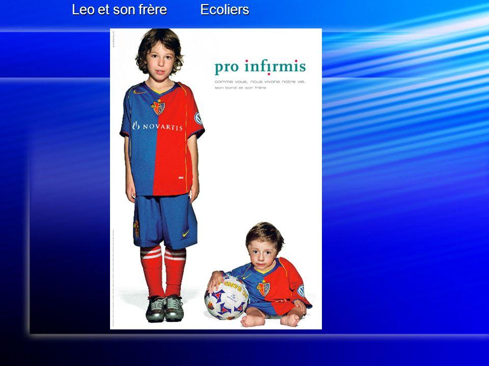 Leo et son frère Ecoliers Leo et son frère Ecoliers