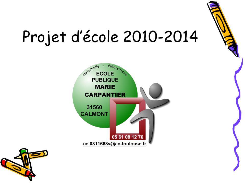 Projet décole 2010-2014