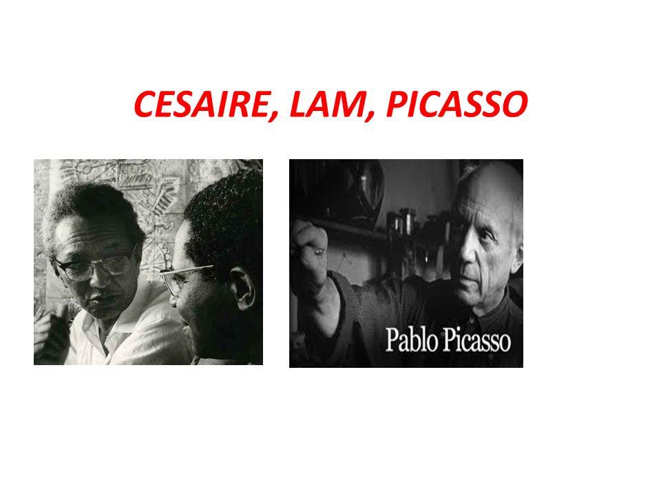 LES CLASSES DE Terminales dESPAGNOL du lycée de Bellevue sont allées à la rencontre dAIME CESAIRE, WILFREDO LAM et Pablo PICASSO