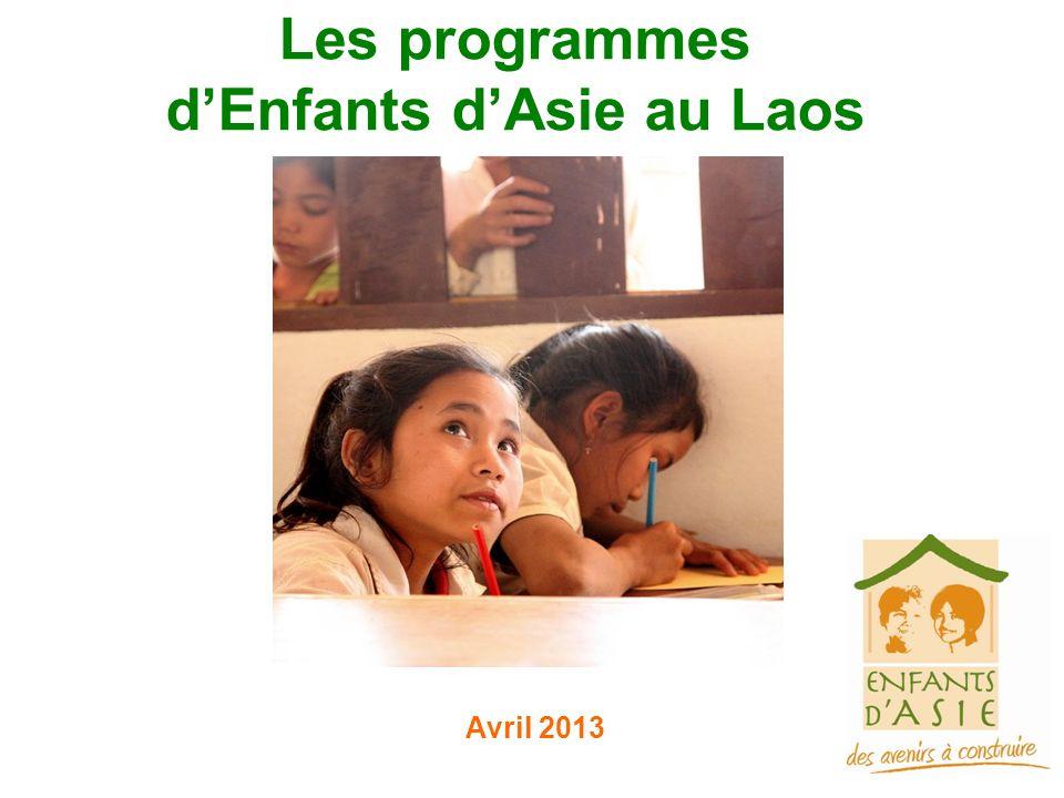 Les programmes dEnfants dAsie au Laos Avril 2013