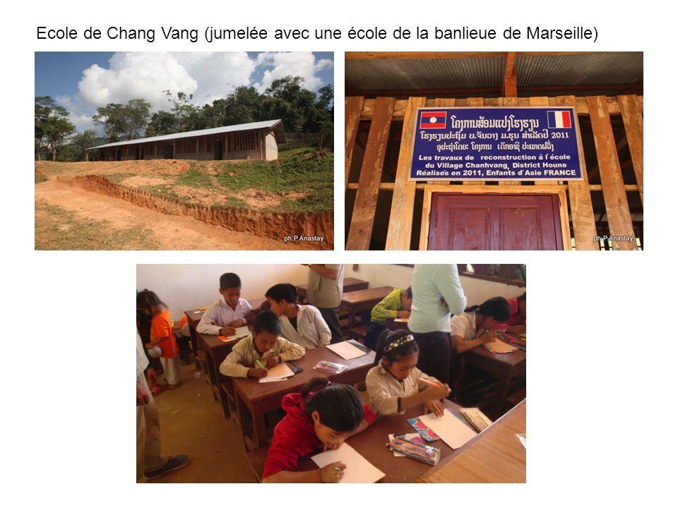 Ecole de Chang Vang (jumelée avec une école de la banlieue de Marseille)