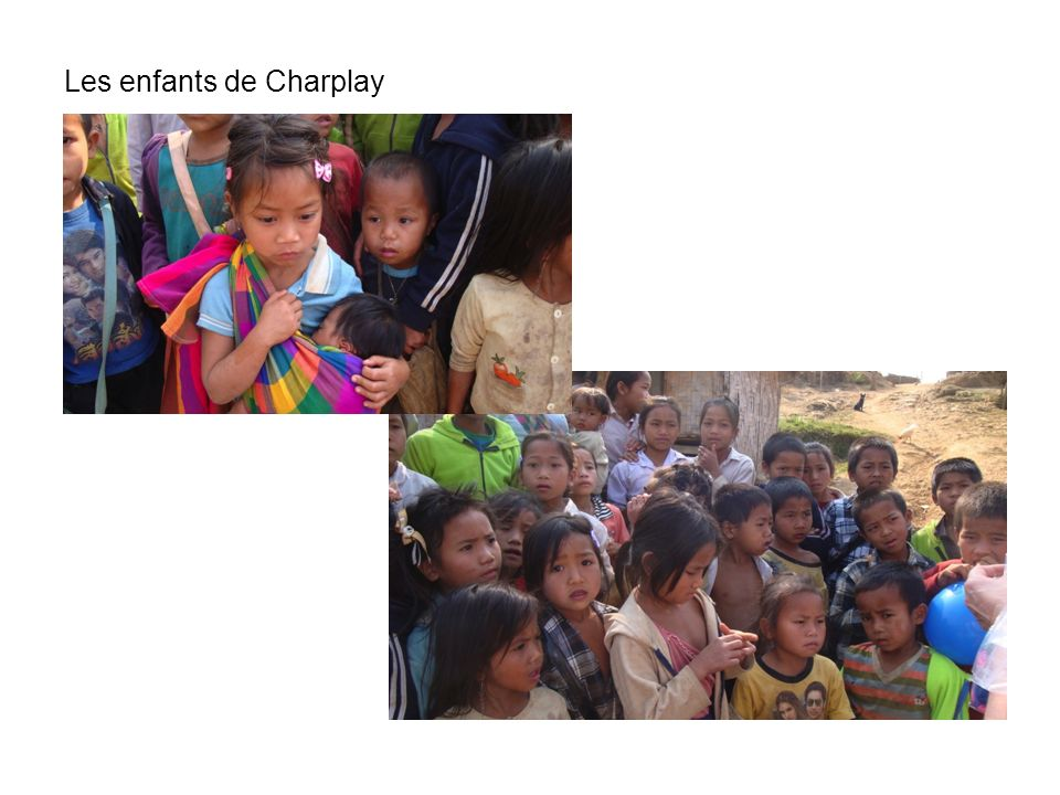 Les enfants de Charplay