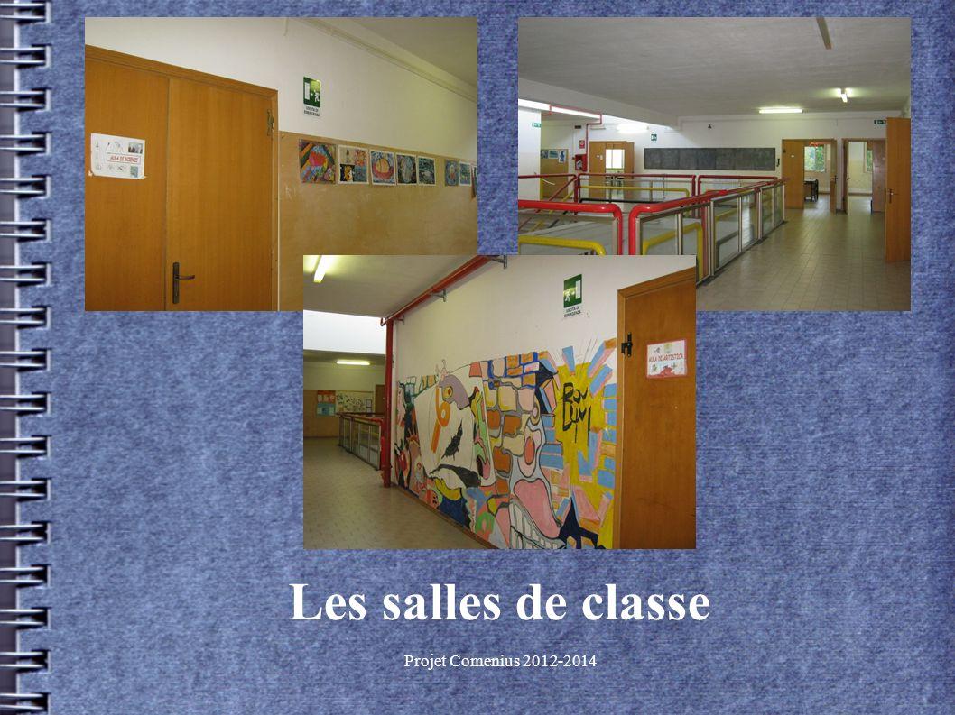 Projet Comenius 2012-2014 Les salles de classe