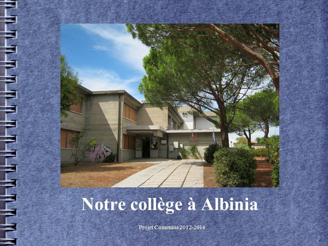 Notre collège à Albinia