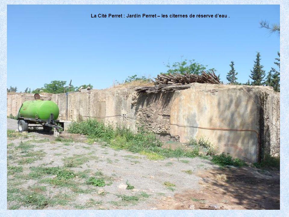 La Cité Perret : Jardin Perret – Mise à jour des citernes de réserve deau.