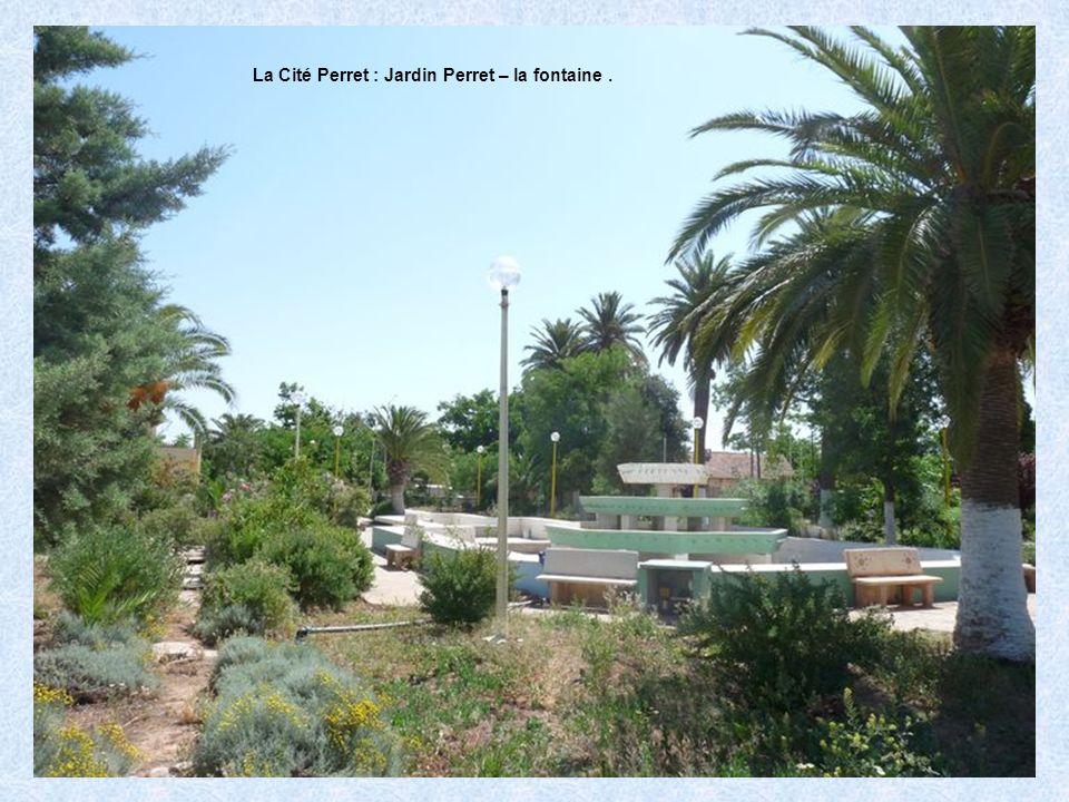 La Cité Perret : Jardin Perret – les citernes de réserve deau.