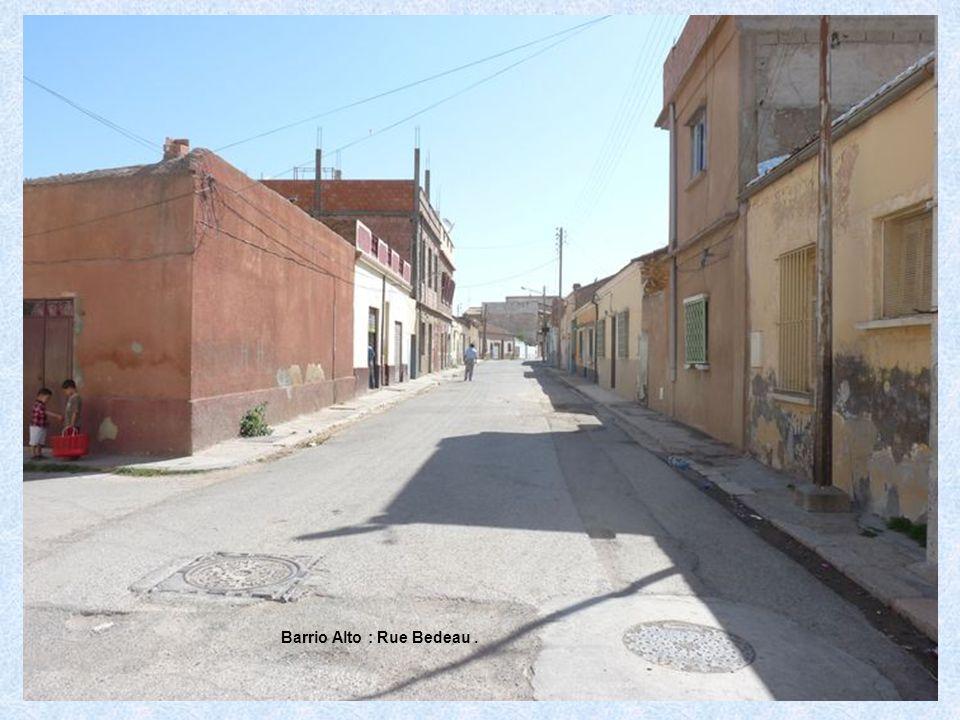 Barrio Alto : Rue Bedeau.