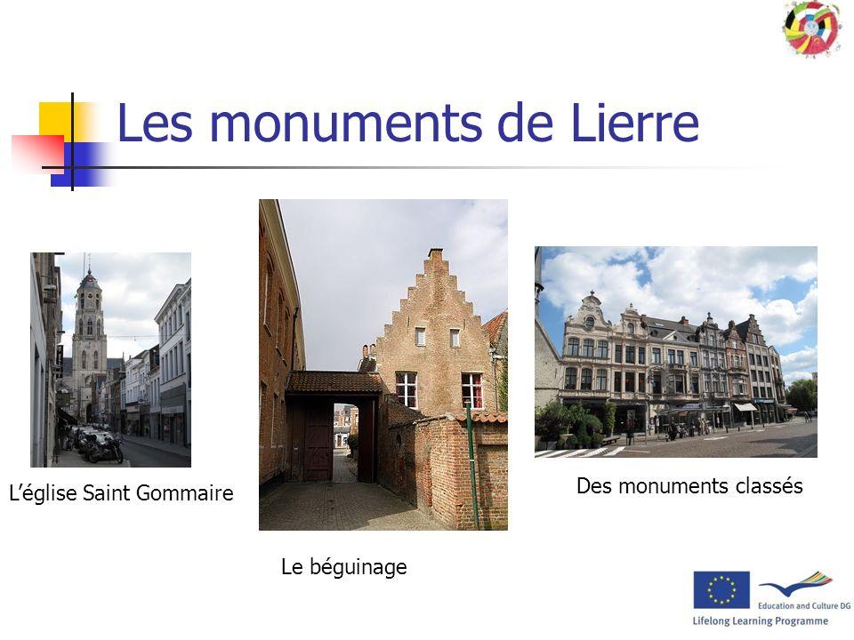 Le folklore de Lierre Comme c'est le cas pour beaucoup de villes flamandes, les habitants de Lierre sont affublés d'un sobriquet : « schapenkoppen »,
