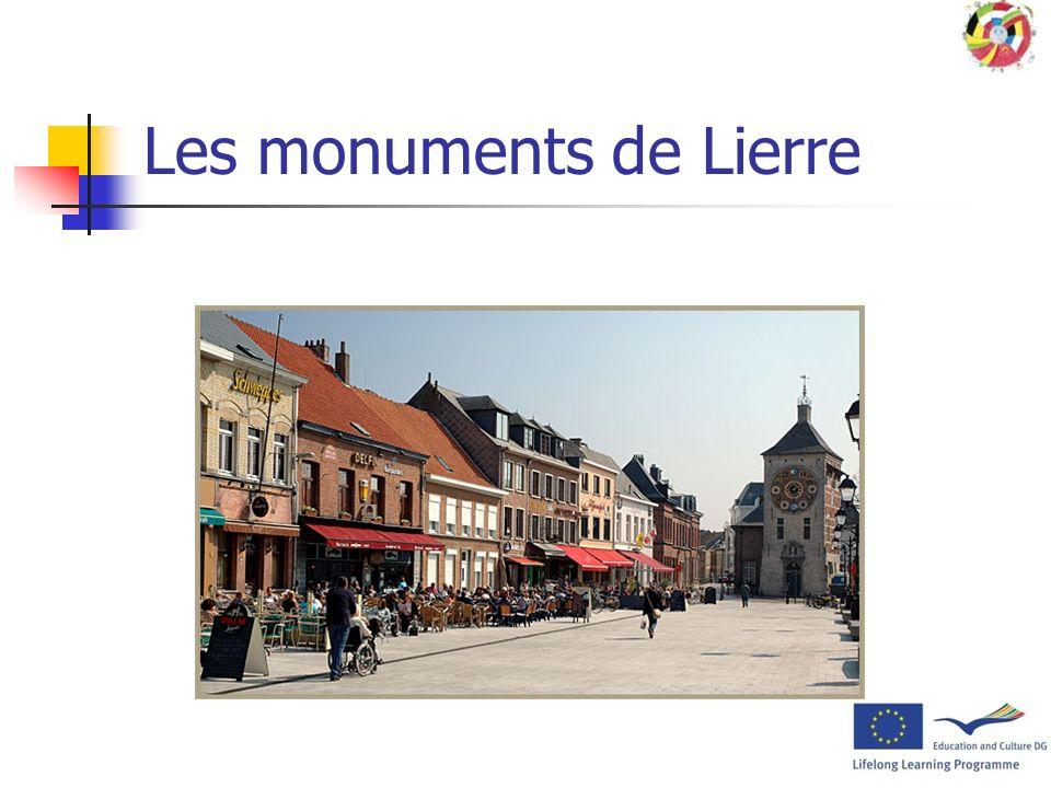 Les monuments de Lierre Léglise Saint Gommaire Des monuments classés Le béguinage