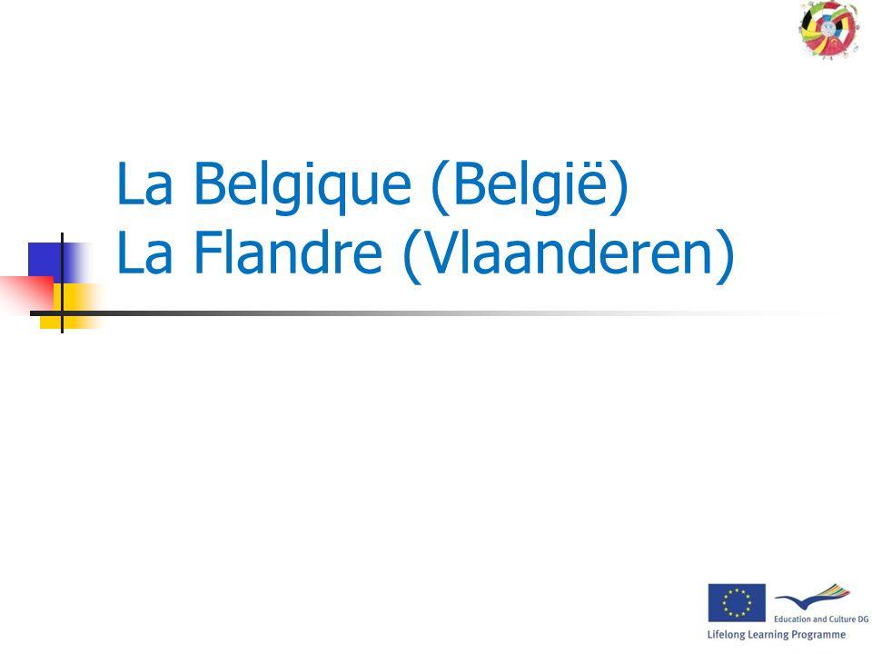 Présentation aux élèves de la Belgique, de la Flandre, de Lierre, de lécole des partenaires et de la mobilité des professeurs Mobilité à Lierre (Belgi