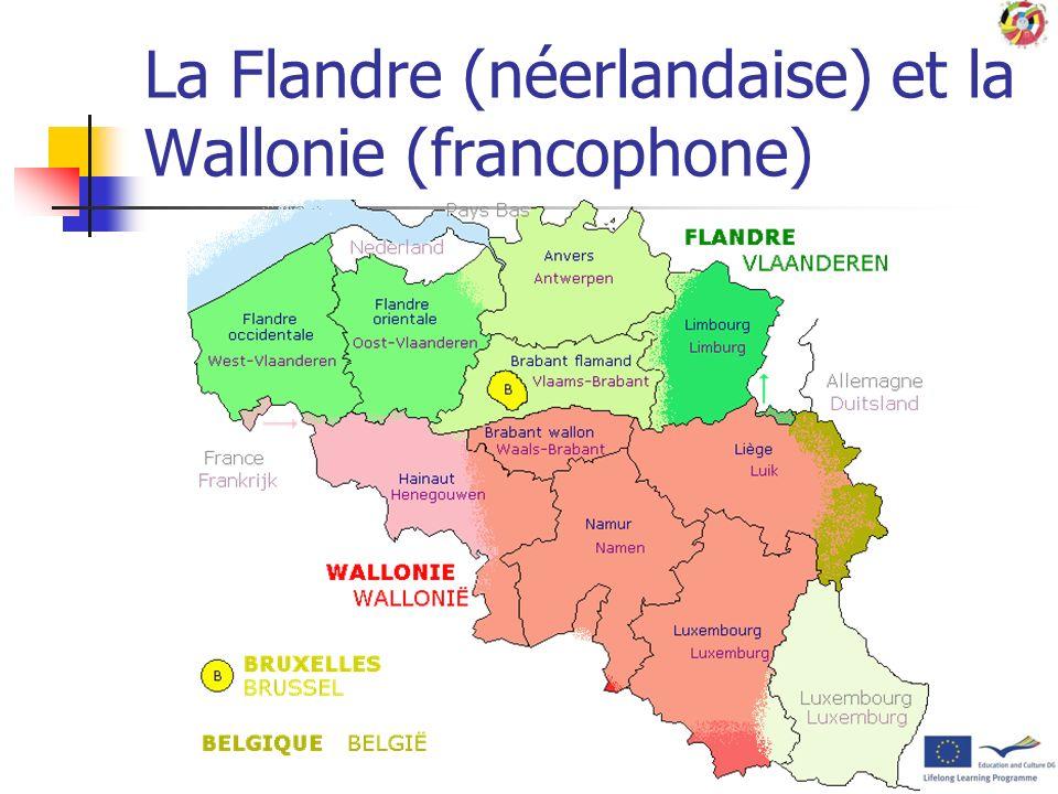 Localisation de la Belgique par rapport à la France