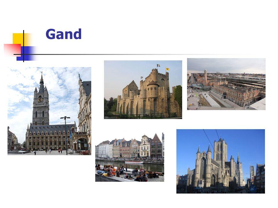 Des villes flamandes : Bruges