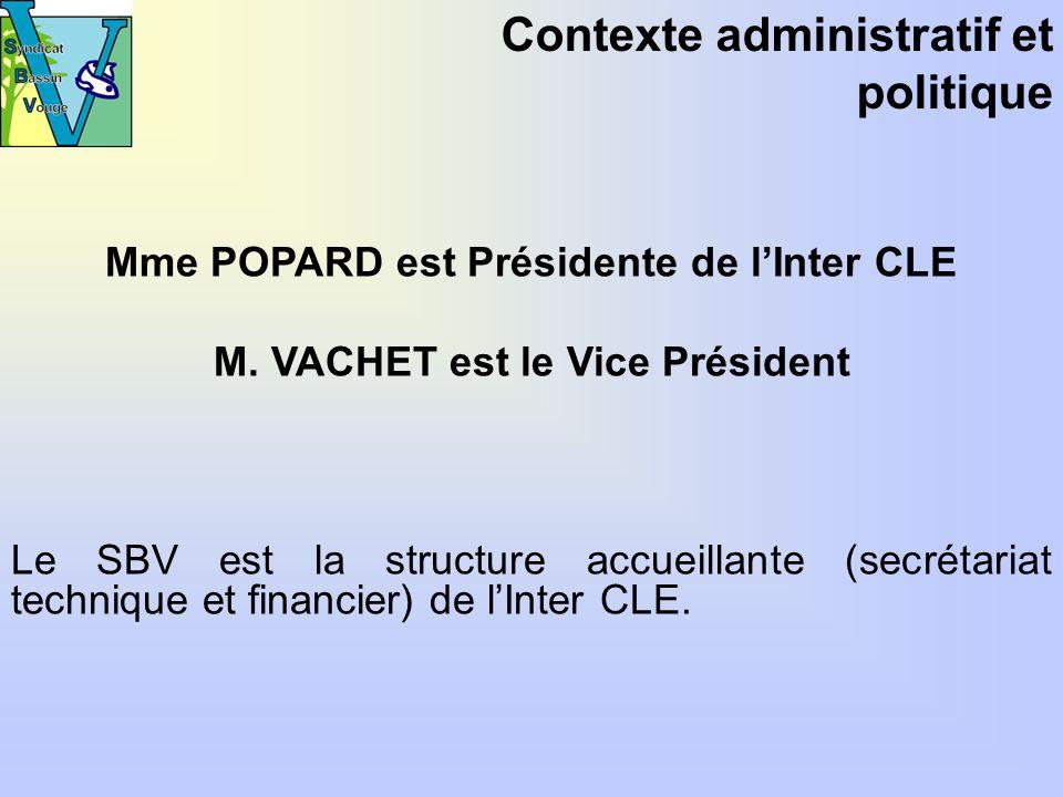 Mme POPARD est Présidente de lInter CLE M.