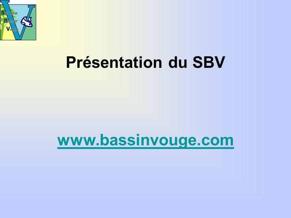 Présentation du SBV www.bassinvouge.com
