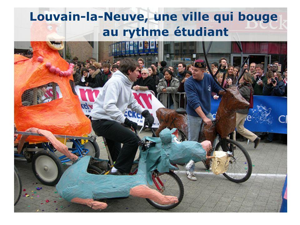 16 Louvain-la-Neuve, une ville qui bouge au rythme étudiant