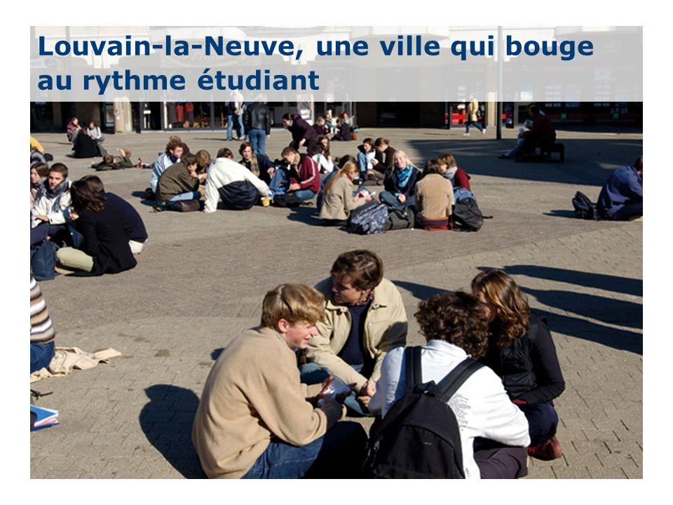 18 Louvain-la-Neuve, une ville qui bouge au rythme étudiant