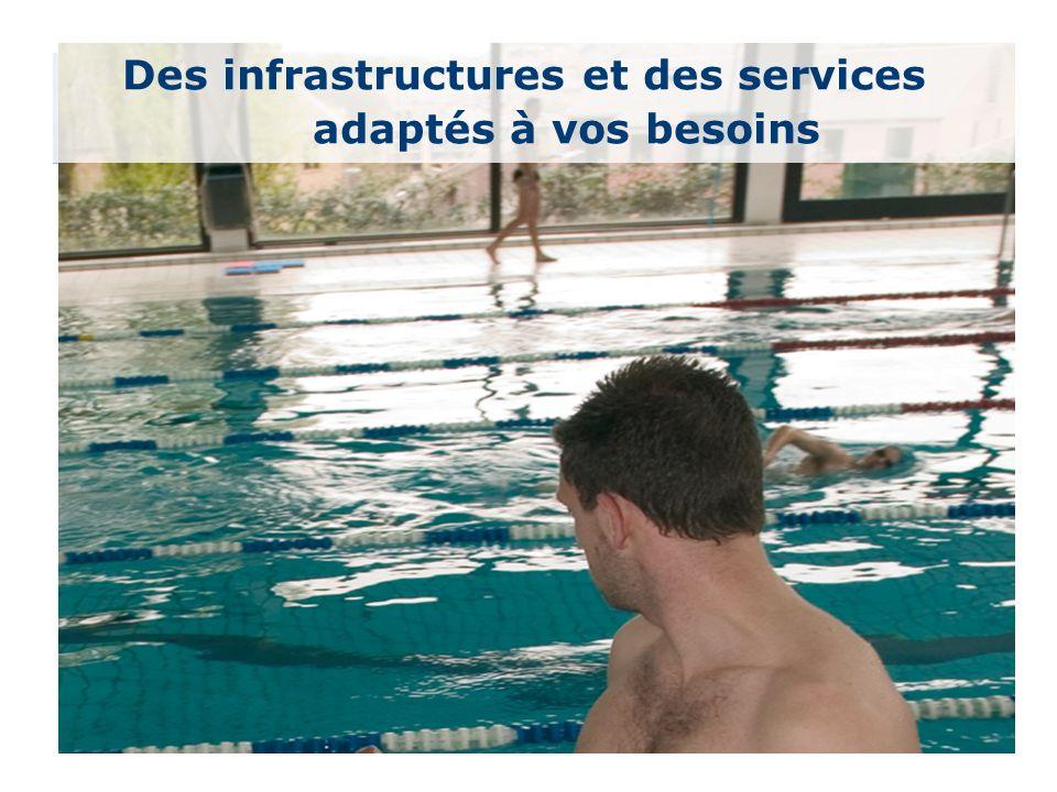 35 Des infrastructures et des services adaptés à vos besoins