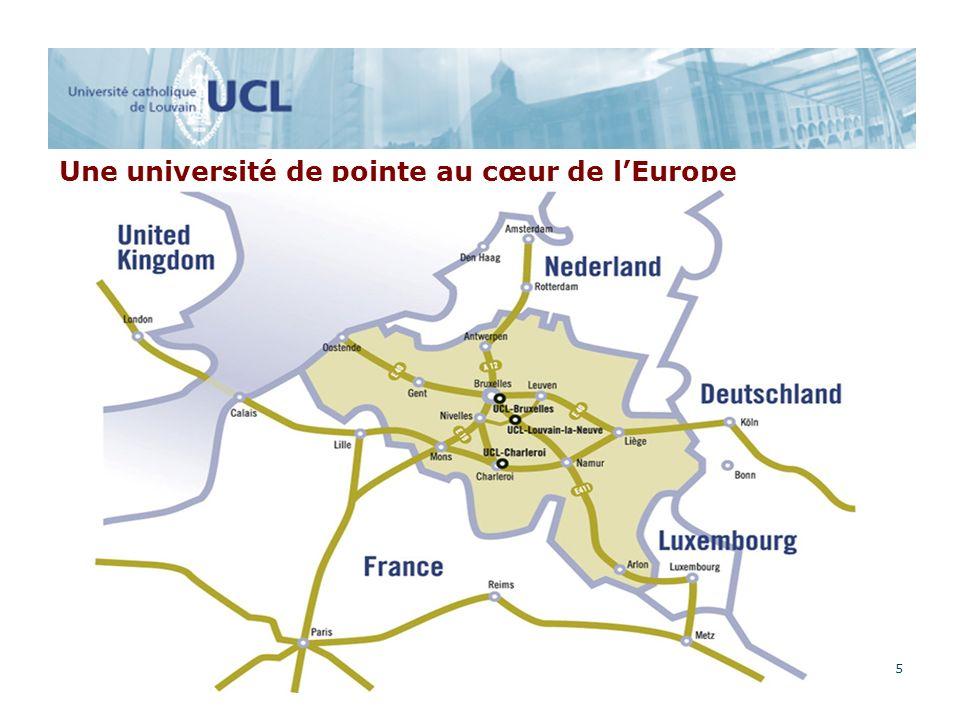 5 Une université de pointe au cœur de lEurope