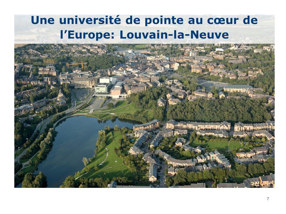 7 Une université de pointe au cœur de lEurope: Louvain-la-Neuve