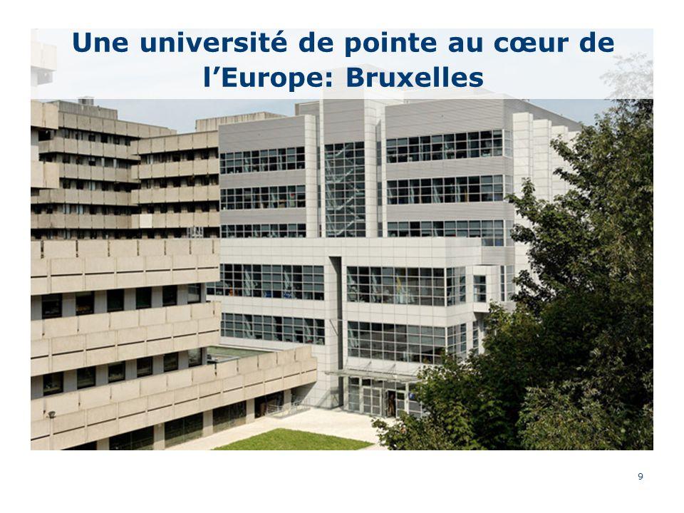 9 Une université de pointe au cœur de lEurope: Bruxelles