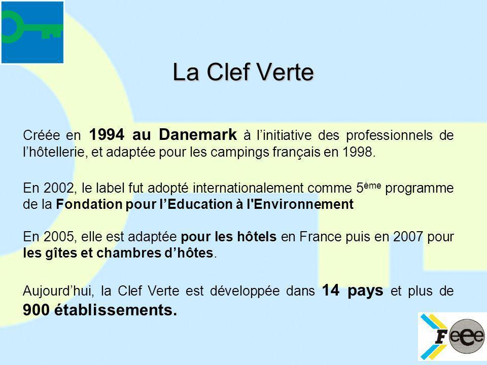 Créée en 1994 au Danemark à linitiative des professionnels de lhôtellerie, et adaptée pour les campings français en 1998. En 2002, le label fut adopté