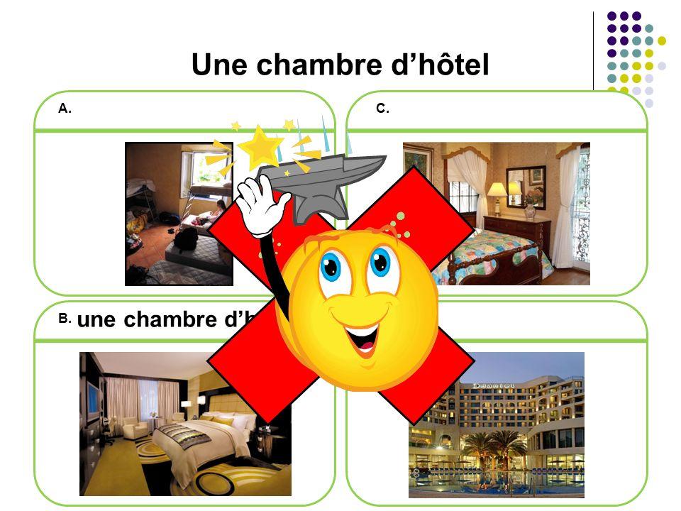 Vrai ou faux Il faut faire une réservation pour être sûr davoir une chambre dans un hôtel. VRAI!