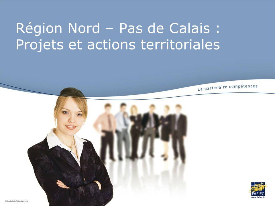 Région Nord – Pas de Calais : Projets et actions territoriales