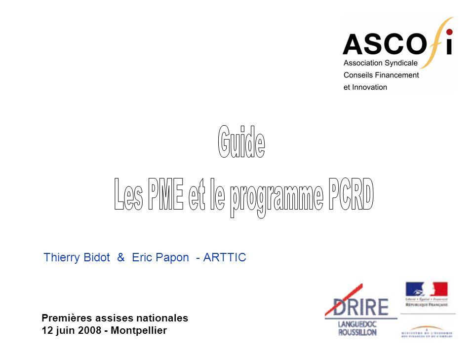 Thierry Bidot & Eric Papon - ARTTIC Premières assises nationales 12 juin 2008 - Montpellier