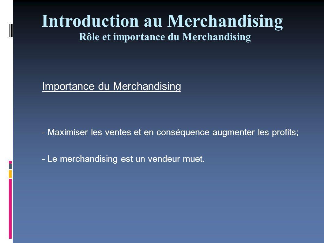 Le merchandising du distributeur et le merchandising du producteur Les objectifs différents Les rôles différents