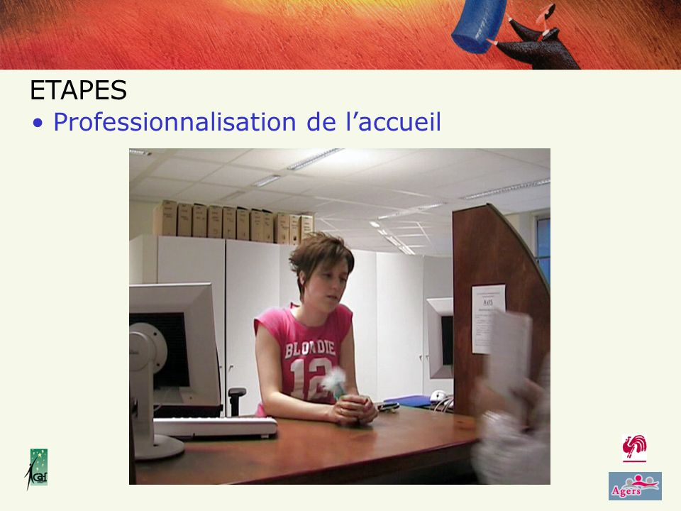 Professionnalisation de laccueil ETAPES