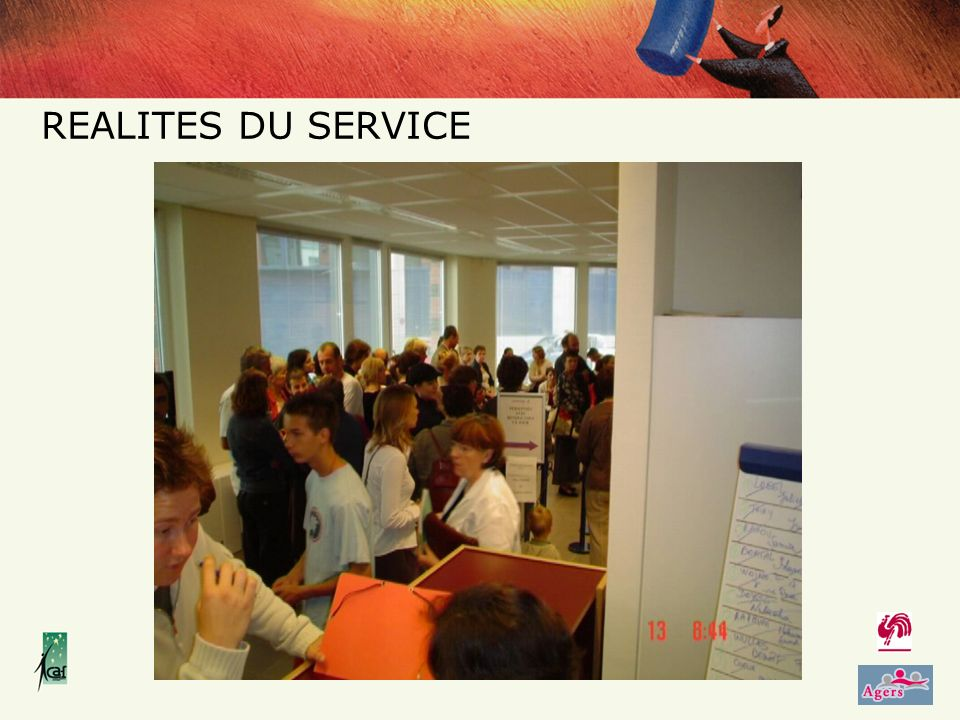 REALITES DU SERVICE