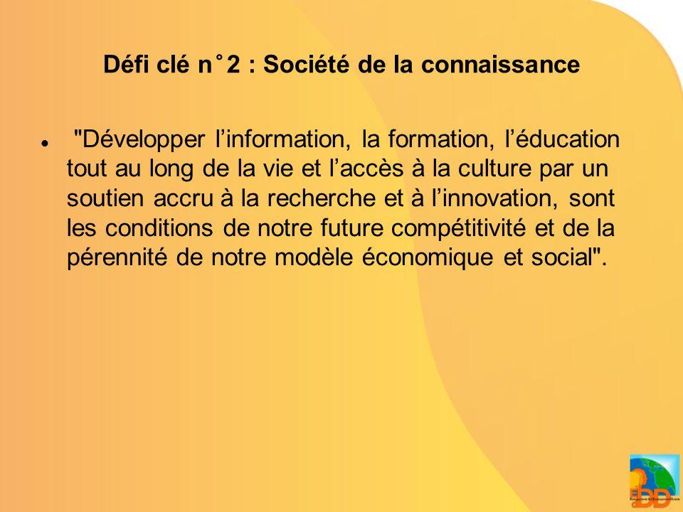 Défi clé n°3 : Gouvernance Une gouvernance adaptée facilite notre adaptation au changement et aide notre société à évoluer en associant toutes les parties prenantes .