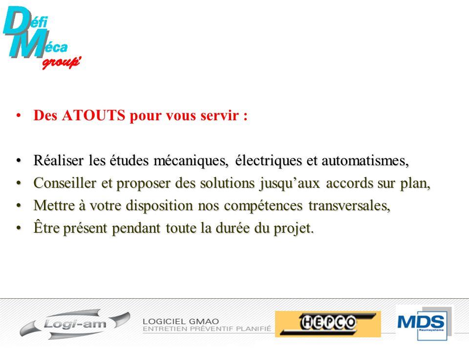 Défi-méca Firme spécialisée en automatisation, Optimisation de production et de maintenance industriel.