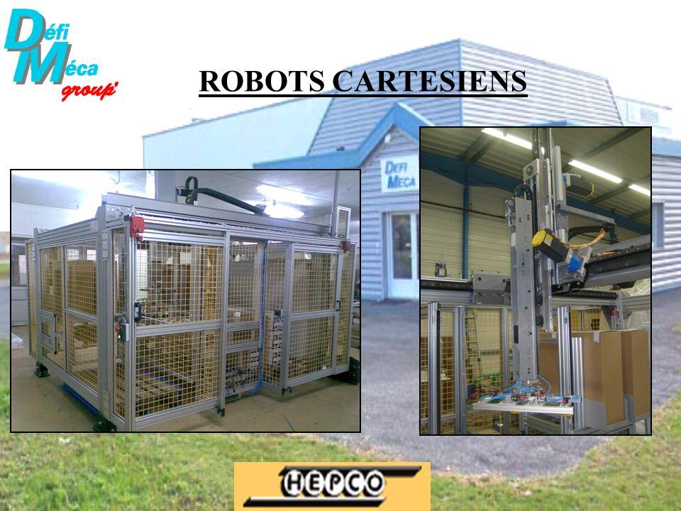 ROBOTS CARTESIENS
