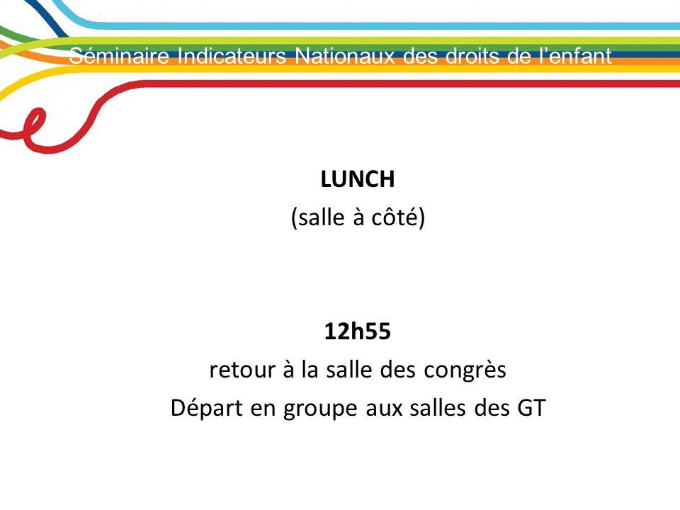 Séminaire Indicateurs Nationaux des droits de lenfant Les inégalités de santé: un point dattention clé Prof.