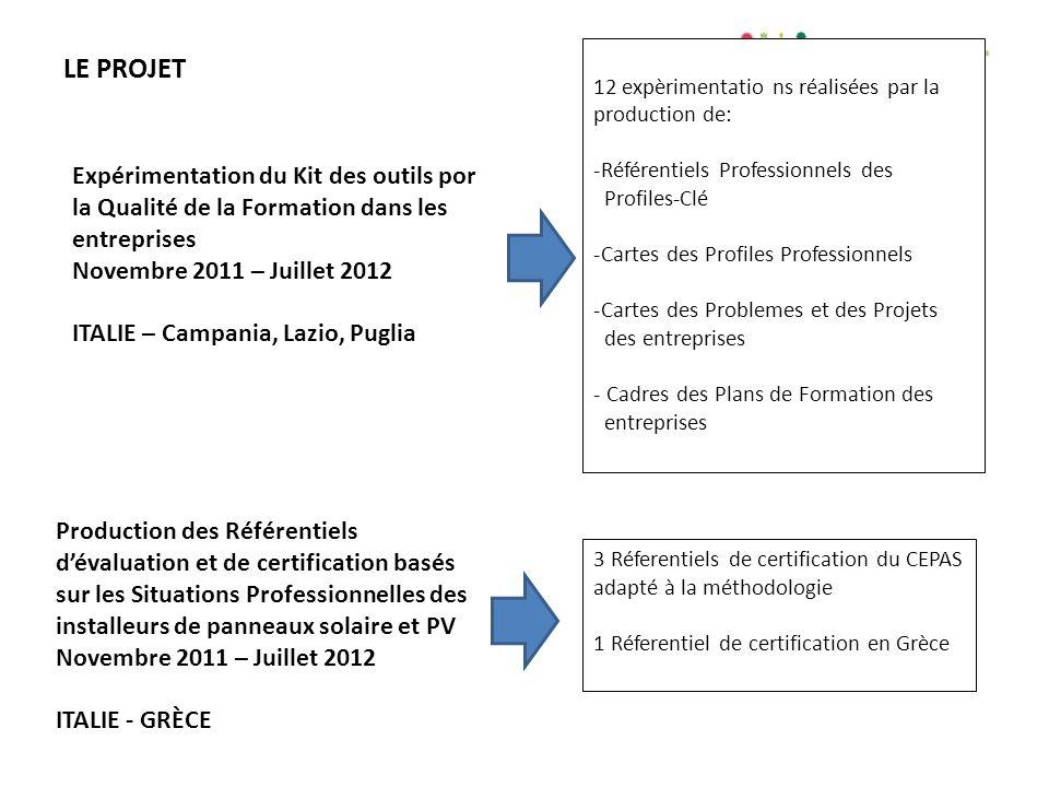 IL PROGETTO www.ldv-geco.eu