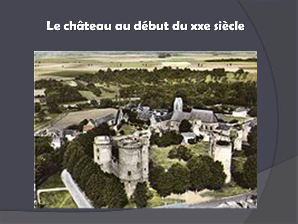 Le château au début du xxe siècle