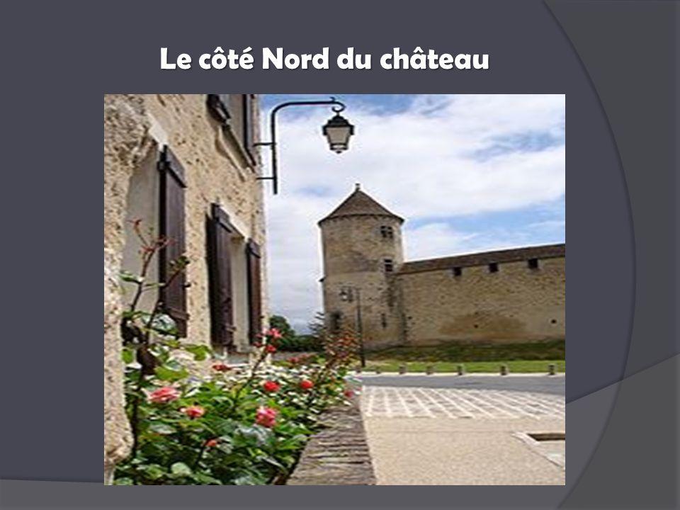 Le côté Nord du château