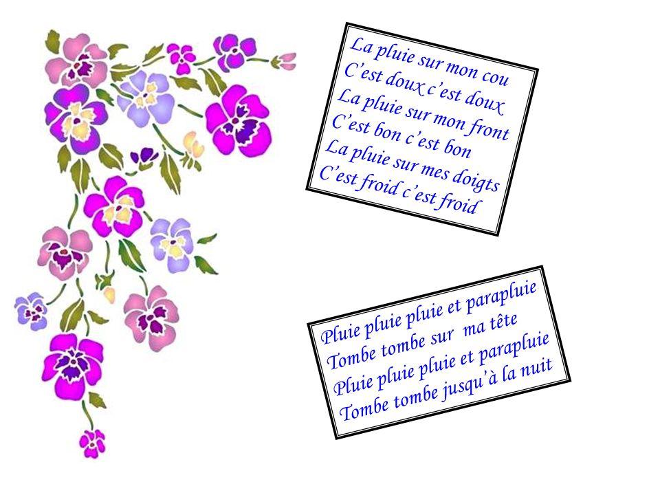 Coccinelle Coccinelle demoiselle Bête à Bon Dieu Coccinelle demoiselle Vole vers les cieux Petit point rouge Elle bouge Petit point blanc Elle attend Petit point noir Coccinelle au revoir