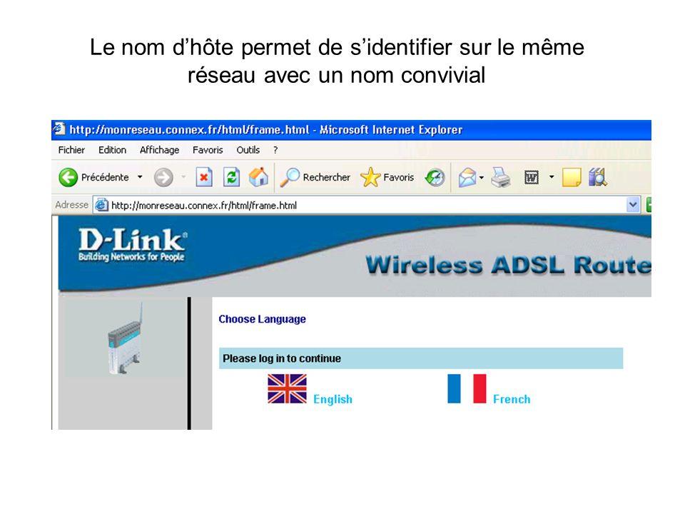 DMZ ( Zone DéMilitarisée ) Cette fonction permet de créer un site web accessible de lextérieur, et laissant les internautes passer le pare-feu du routeur
