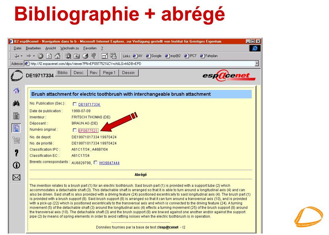Bibliographie + abrégé