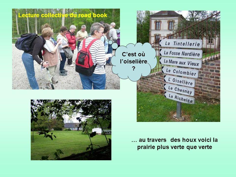 La balade pédestre de lA N R Groupe de lEure ce jeudi 10 mai 2012 nous entraîne autour du village de Ferrières-Saint-Hilaire.