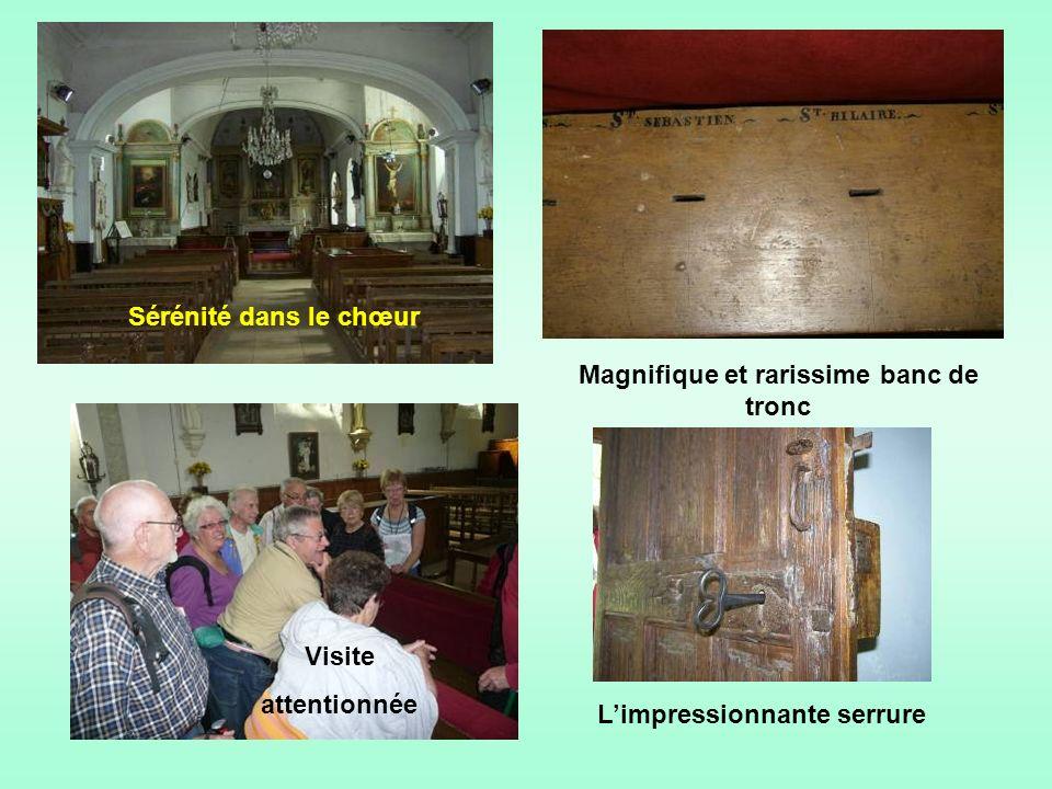 Léglise Saint-Hilaire du XI ème siècle apparaît au détour du chemin