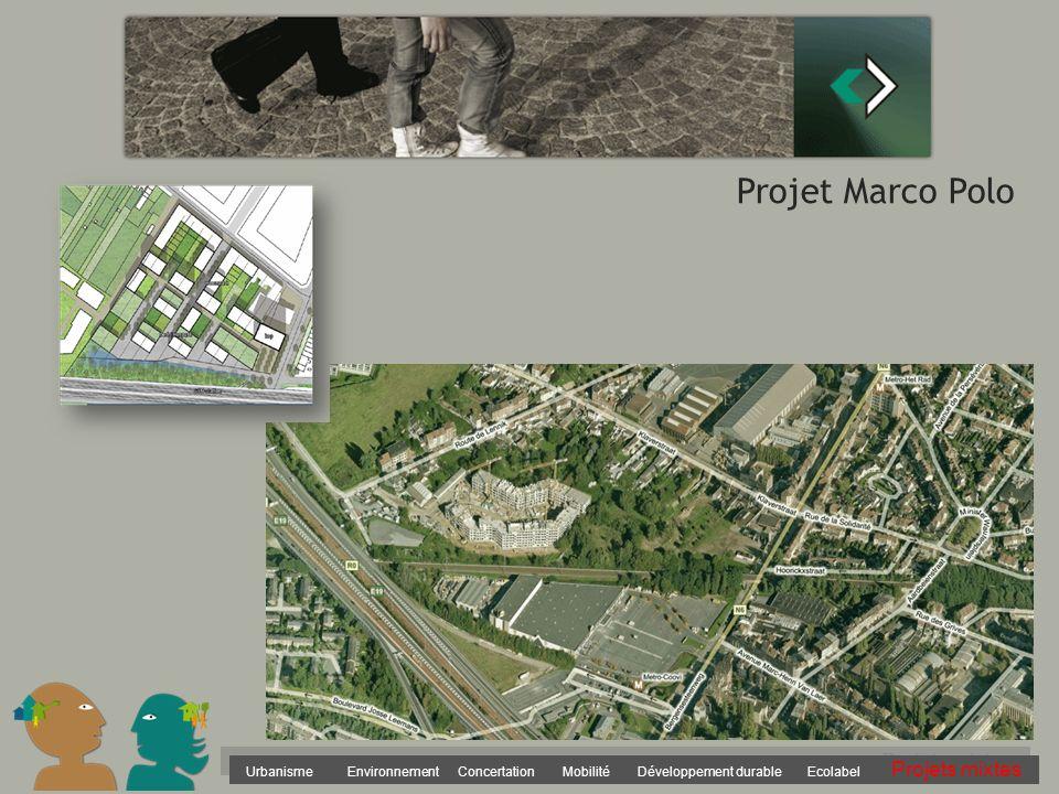 Urbanisme Environnement Concertation Mobilité Développement durable Ecolabel Projets mixtes Projet Marco Polo