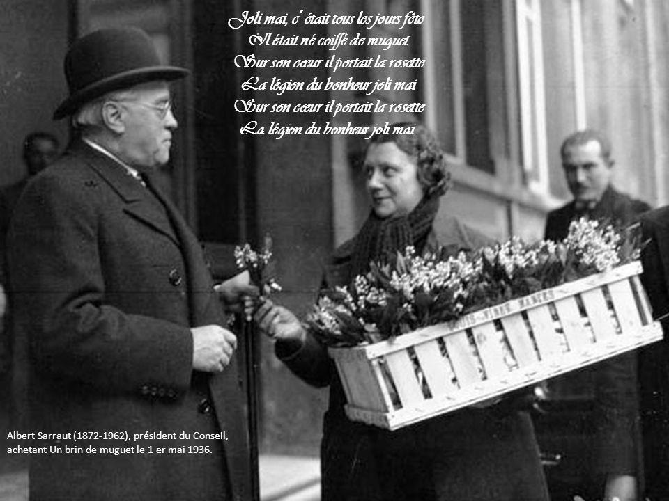 Au début du XXe siècle, il devient habituel, à l occasion du 1er mai, d offrir un brin de muguet, symbole du printemps en Île- de-France.