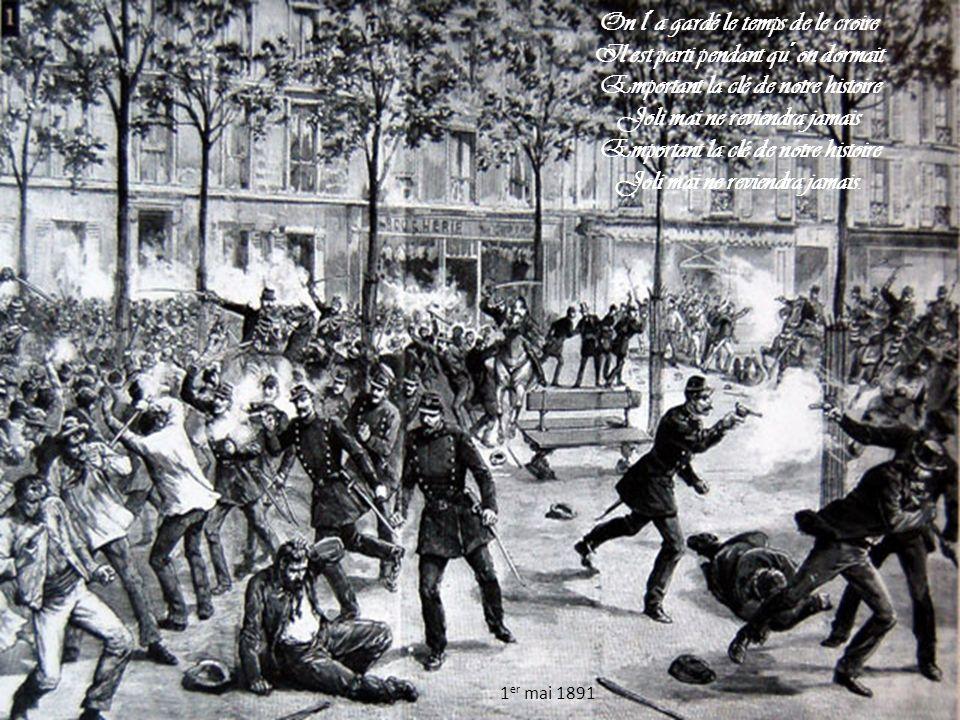 Des manifestations syndicales, voire intersyndicales ou unitaires (selon les années, les revendications et les mouvements sociaux en cours), ont lieu dans les grandes villes de France le 1er mai, les plus importantes d entre elles ayant traditionnellement lieu à Paris.