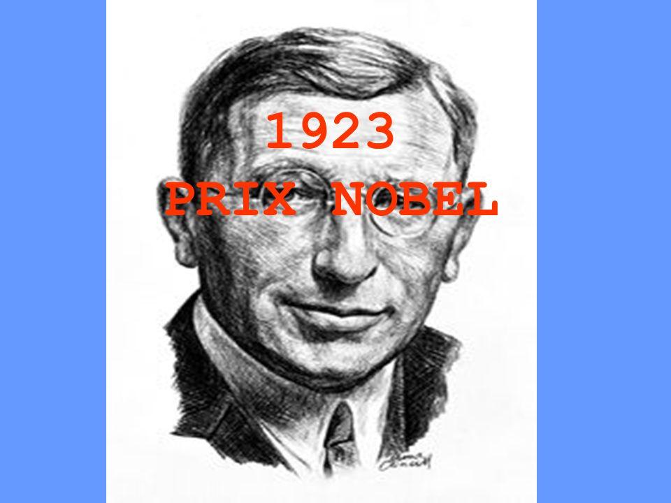 1923 PRIX NOBEL