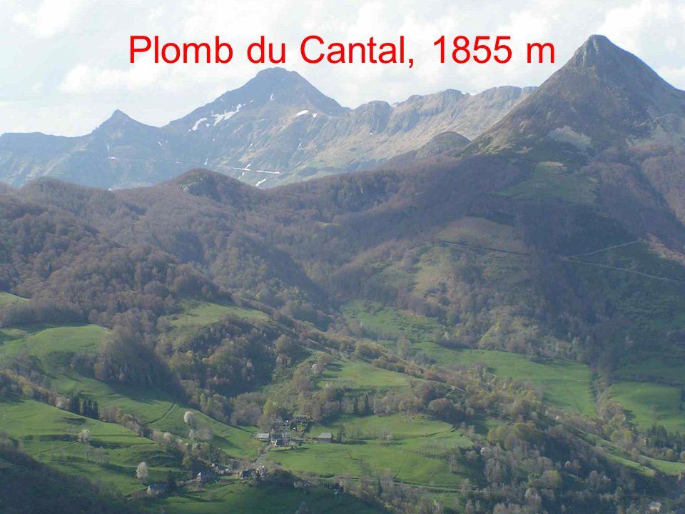 Plomb du Cantal, 1855 m