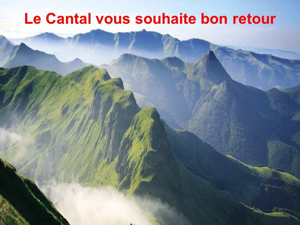 Le Cantal vous souhaite bon retour